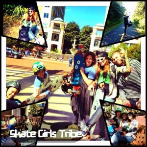 Skate Girls Tribe Longboarding Adventure