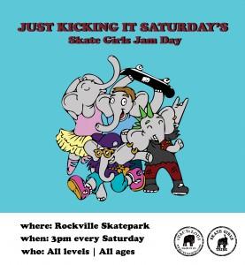 Just Kicking It Saturday's
