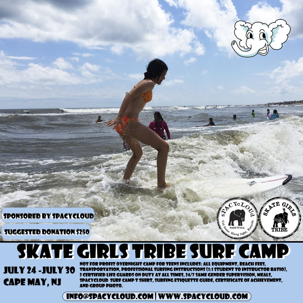 Skate Girls Tribe Surf Camp