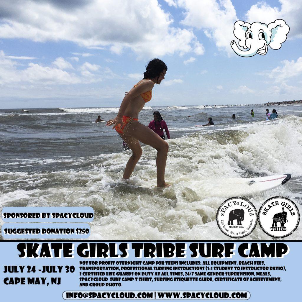 Skate Girls Tribe Surf Camp