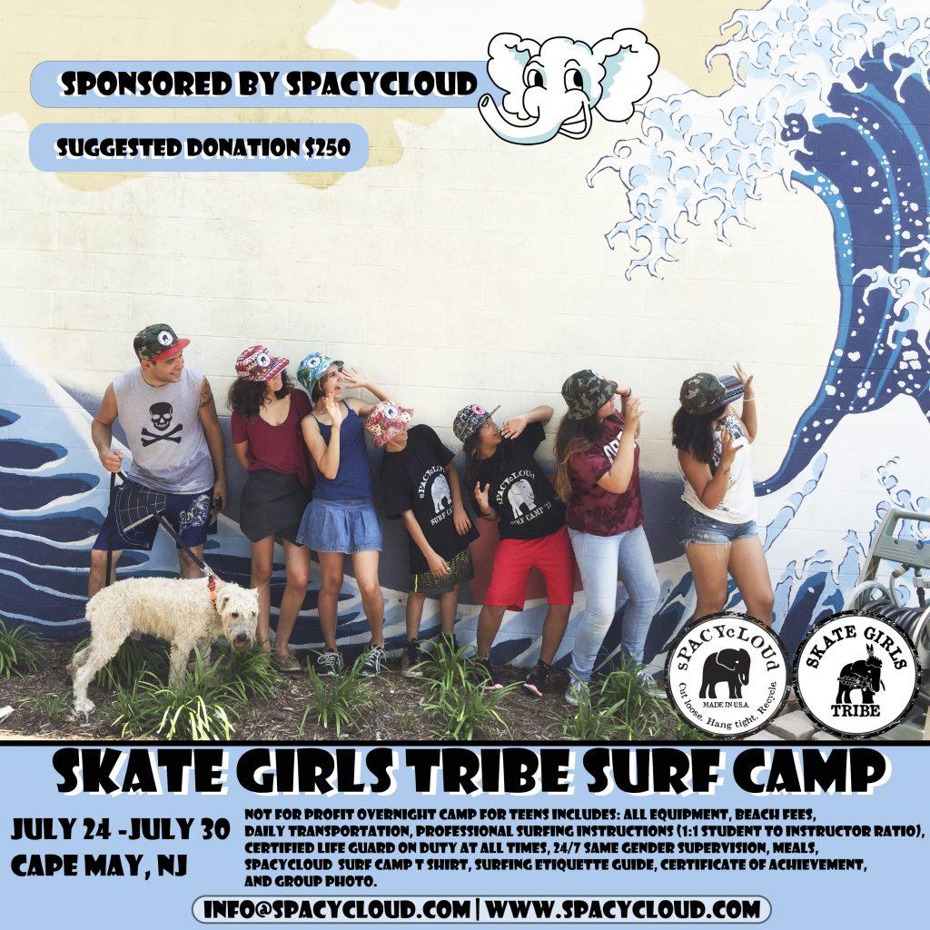 sPACYcLOUd Surf Camp